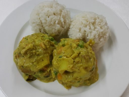 Chicken Curry Plated