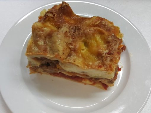 Lasagne Plated