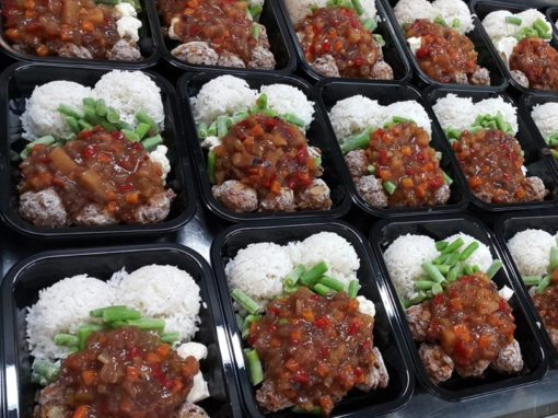 Sweet and Sour Meatballs Preparation